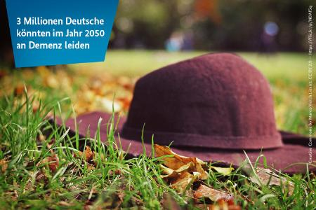 Zahl der Woche - Demenz / © Creative Commons by Marco Verch Lizenz: CC BY 2.0 – https://flic.kr/p/NBAfSq