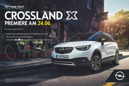 Macht das Leben leichter: Der neue Opel Crossland X bietet Premium-Technologien für alle