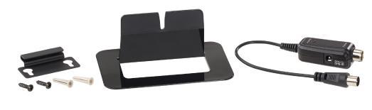 auvisio Aktive Design-Zimmerantenne für DVB-T/T2 & DAB/DAB+, 47 dB,LTE-Filter