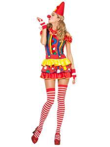 Karnevalskostüme Klassiker - Süsse Clownfrau