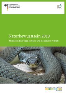 Cover Naturbewusstsein 2019