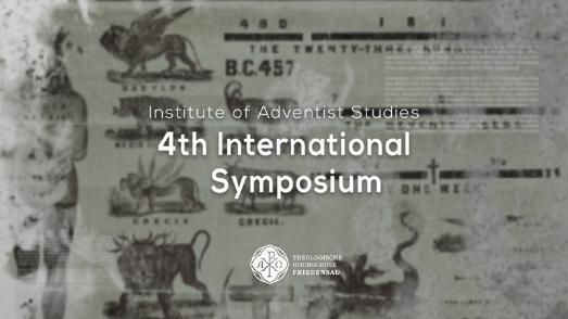 Logo des 4. Internationalen Symposiums an der Theologischen Hochschule Friedensau © thh-friedensau.de