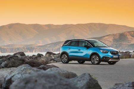 Auf zu neuen Ufern: Der Opel Crossland X feiert im Dezember in Südafrika Premiere.