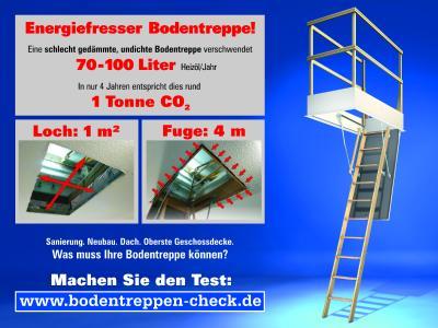 Bodentreppen-Check: Einfach Treppen testen.