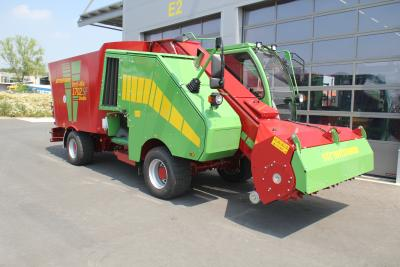 Strautmann SF Self-Propelled Machinery Meets Emission Standard Level V