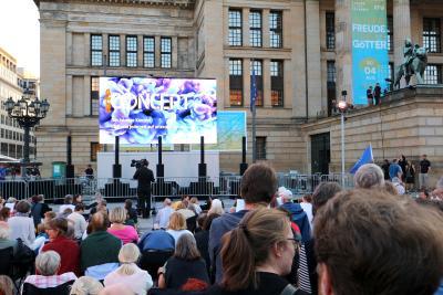 Konzertsaalfeeling im Freien