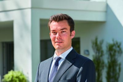 Stephan Jager (31) wurde zum Jahresbeginn in die Geschäftsführung von WeberHaus berufen