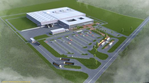 The groundbreaking ceremony in Kaunas (Lithuania) is scheduled for the middle of 2018 / © Continental AG