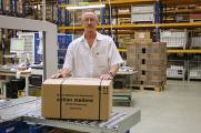Roland Schwanke auf Stippvisite bei action medeor. Um die Medikamentenhilfe für den Irak besser zu koordinieren, arbeitet er für action medeor im nordirakischen Erbil. Am 29. Mai geht es wieder zurück. (© action medeor)