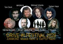 MICHAEL SCHULTE - MAGNUS - TOM BECK - BÜRGER LARS DIETRICH im DRIVE IN FESTIVAL - Autokino Movie Park Germany Bottrop am 19/20. Juni 2020