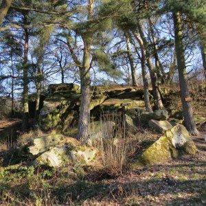 Geotop Dicke Steine Homberg – Nieder-Ofleiden / Foto: Geopark