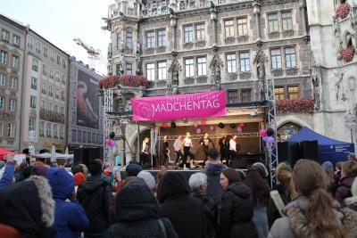 Internationaler Mädchentag in München