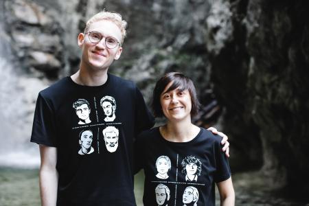 Die Gründer von portrait52: Alice Pelzl (42) & Christian Walther (26)