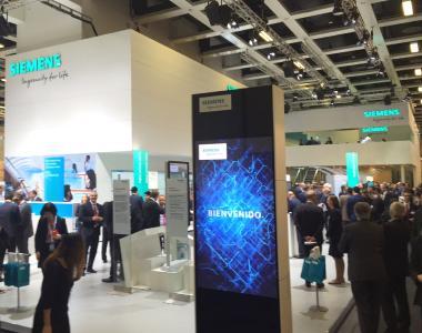 hl-studios und Siemens AG setzten Maßstäbe auf der InnoTrans 2016 in Berlin (Foto: hl-studios, Erlangen)