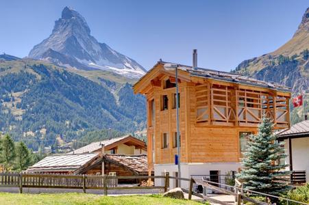 Fantastisch! - die exklusive Lage mit Blick auf das Matterhorn