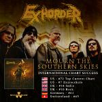 EXHORDER - infiltrates worldwide charts with »Mourn The Southern Skies« + kicks off European tour today!
