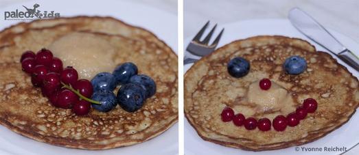 paleokids -  Paleo -  Eierkuchen, Pfannkuchen, Pancakes oder Pannekoeken...