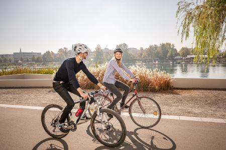 Radtour in Konstanz / Bildnachweis MTK Dagmar Schwelle