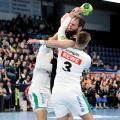 HC Erlangen - Nico Büdel (am Ball): starke Leistung gegen Leipzig (Jocki_Foto, Erlangen)