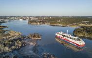 Die klimafreundliche Anreise nach Finnland mit der Fähre,  hier mit der Viking Grace