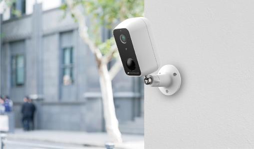VisorTech Outdoor-IP-Überwachungskamera IPC-670, Full HD, WLAN & App, Akku-Betrieb, IP65 / Copyright: PEARL. GmbH / www.pearl.de