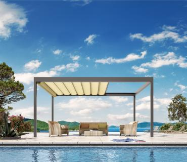 Outdoor-Living Pavillon BAVONA