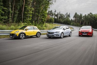 Opel ADAM ROCKS Astra Corsa