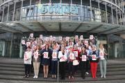 World Blood Cancer Day 2018 - Gothaer Mitarbeiter setzen ein Zeichen
