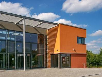 Bibliotheksgebäude in Friedensau © Foto: Matthias Mueller/churchphoto.de