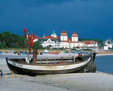 Vom Ferienhausanbieter Atraveo zum beliebtesten Ferienort Deutschlands gewählt: Ostseebad Binz auf Rügen (Foto: TMV/Grundner)