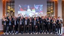 Bei einem Abend zu Ehren der Deutschen Berufe-Nationalmannschaft in Berlin wurden die Teilnehmer/innen der Weltmeisterschaft der Berufe – den WorldSkills Kasan 2019 – gebührend gefeiert. Fotohinweis: WorldSkills Germany / Frank Erpinar