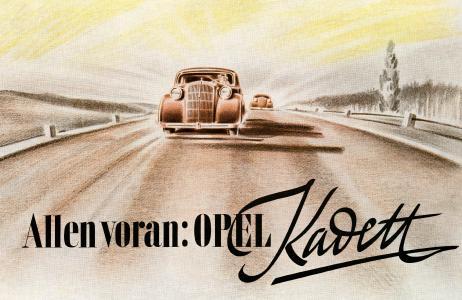 Vorreiter: Weit voran war Opel Mitte der 1930er-Jahre vor allem mit der damals höchst innovativen selbsttragenden Ganzstahlkarosserie.
