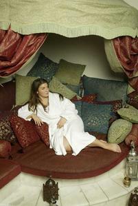 Ein Traum von 1000 und einem Kissen - der Ruheraum im Hamam!