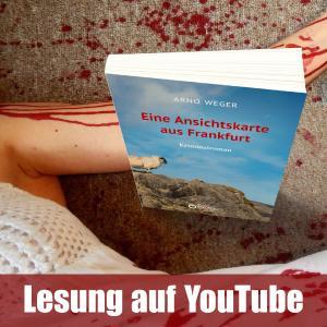 Arno Weger liest auf YouTube