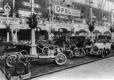 1912 Opel Ausstellung Bruessel