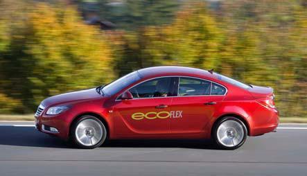 Umweltfreundliche Modelle sind bei Opel längst keine Nischenfahrzeuge mehr: Rund 40 Prozent aller deutschen Kunden entscheiden sich für die besonders sparsamen ecoFLEX-Versionen, diein jeder Baureihe angeboten werden