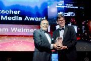 Laudator Mario Ohoven (l.) und Preisträger Wolfram Weimer