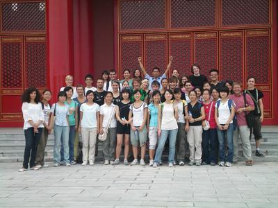 Zum kulturellen Programm der Exkursion gehörte auch die Besichtigung traditioneller chinesischer Tempel