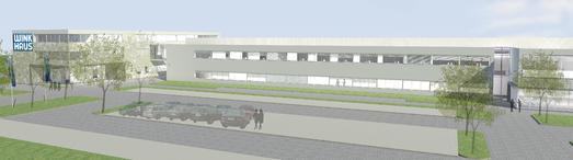 : Im Juni starten die Arbeiten für den Neubau von Winkhaus in Münster. (Bild: Winkhaus)