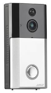 Somikon WLAN-HD-Video-Tuerklingel VTK-260 mit App. IP54
