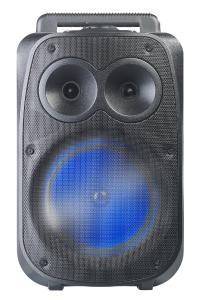 auvisio Mobile PA-Partyanlage PMA-950.k, Bluetooth, MP3, USB, SD, Karaoke, UKW, 150 Watt