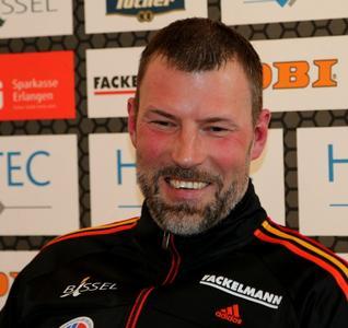 HC Erlangen - Robert Andersson neuer Cheftrainer (Foto: hl-studios, erlangen)