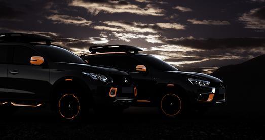 2016 GMS L200 and ASX Show Cars / Lizenz: Creative Commons Zuschreibung