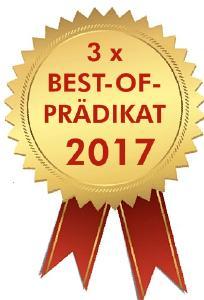 FQL gewinnt 3 x Best-of-Prädikat i