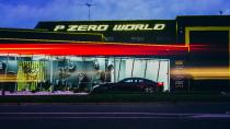 Die Pirelli P Zero World in Melbourne. Der Eröffnungsfeier ging eine Supersportwagen-Parade mit Modellen von Ferrari, Lamborghini, Aston Martin, Bentley und Maserati voraus