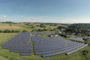 Referenzobjekt der Emittentin: der Solarpark in Eschenburg-Hirzenhain (Hessen).