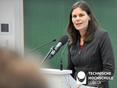 Dr. Muriel Helbig, Präsidentin der TH Lübeck / Foto (THL)