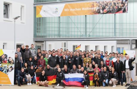 Team Germany - 1. Vorbereitungstreffen im BiW Bau in Erfurt