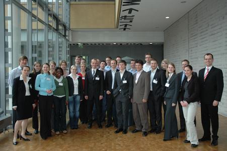 Die Organisatoren der Fachhochschule und der Bertelsmann AG, sowie die Studierenden freuten sich über die gute Atmosphäre des Workshops.