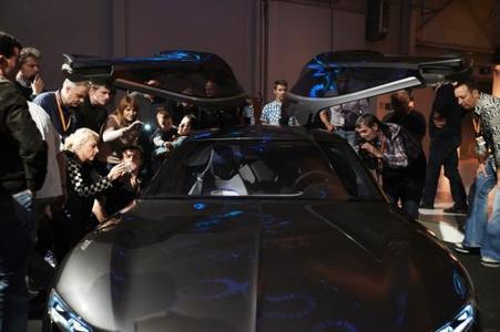 Highlight des Abends: Der Monza Concept ist Stargast bei der Abschlussparty der Creme 21 Youngtimer-Rallye